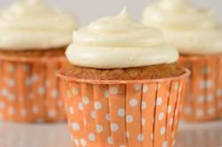 Carrot Cupcakes Recipe & Video