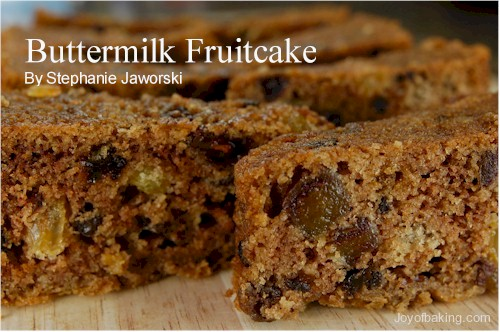 Buttermilk Fruit Cake Recipe - Joyofbaking.com *Tested Recipe*