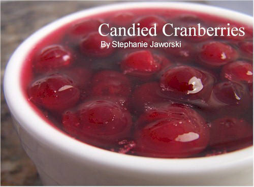 Candied Cranberries Recipe