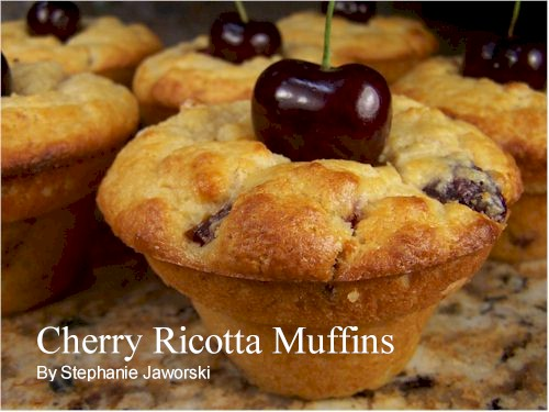 Cherry Ricotta Muffins Recipe