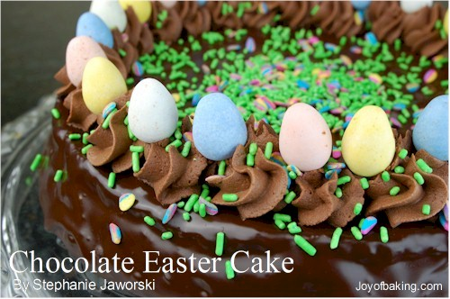 Chocolate Easter Cake Recipe