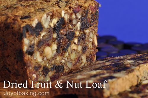 Dried Fruit and Nut Loaf
