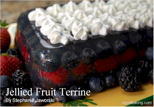 Jellied Fruit Terrine Recipe