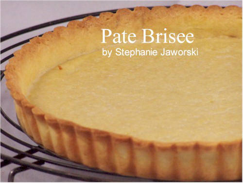 Pate Brisee Recipe With Picture - Joyofbaking.com *Tested Recipe*