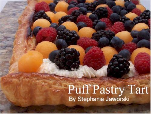 Cream Puff Pastry Filling Recipe Puff Pastry Tart With Cream