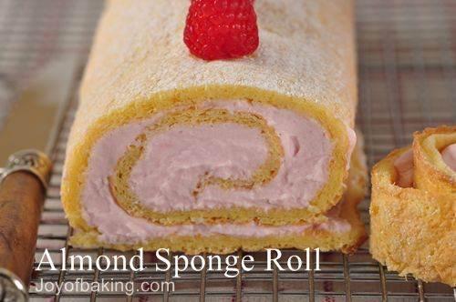 Eggless Vanilla Cake Recipe Joy Of Baking: Almond Sponge Roll Recipe With Picture