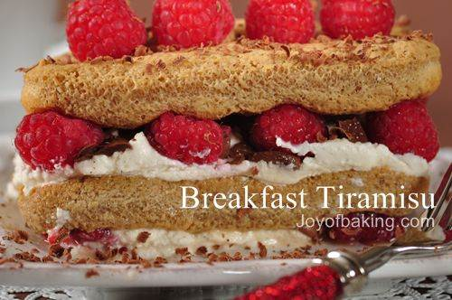 Breakfast Tiramisu Recipe