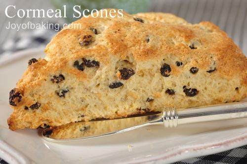 Cornmeal Scones Recipe