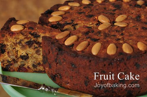 Fruit Cake Recipe - Joyofbaking.com *Tested Recipe*