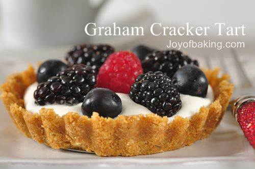 Graham Cracker Tarts Recipe