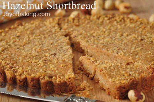 Hazelnut Shortbread Recipe