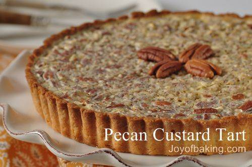 Pecan Custard Tart Recipe