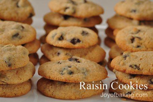 Raisin Cookies Recipe