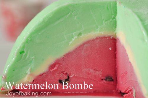 Watermelon Bombe Recipe