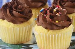 Yellow Cupcakes Recipe & Video